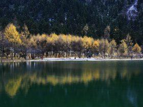 畢棚溝の水-朴頭郷-理県-アバ・チベット族チャン族自治州-撮影:張萍