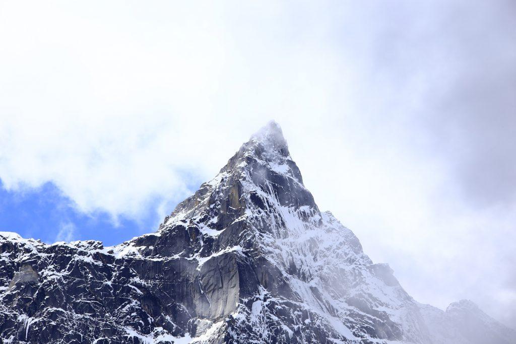 畢棚溝の雪-朴頭郷-理県-アバ・チベット族チャン族自治州-撮影:張萍