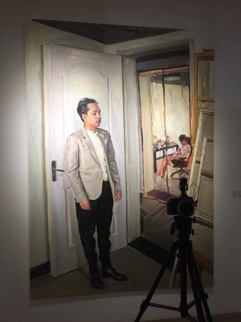 蘇宇個展-凡視-798国際芸術交流中心-撮影: 郝立勳