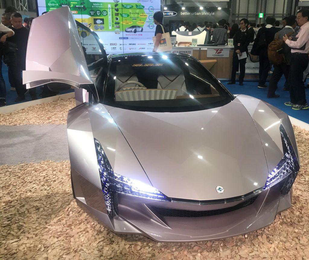 NCV(ナノセルロース・ヴィークル)コンセプトカー-第46回東京モーターショー2019