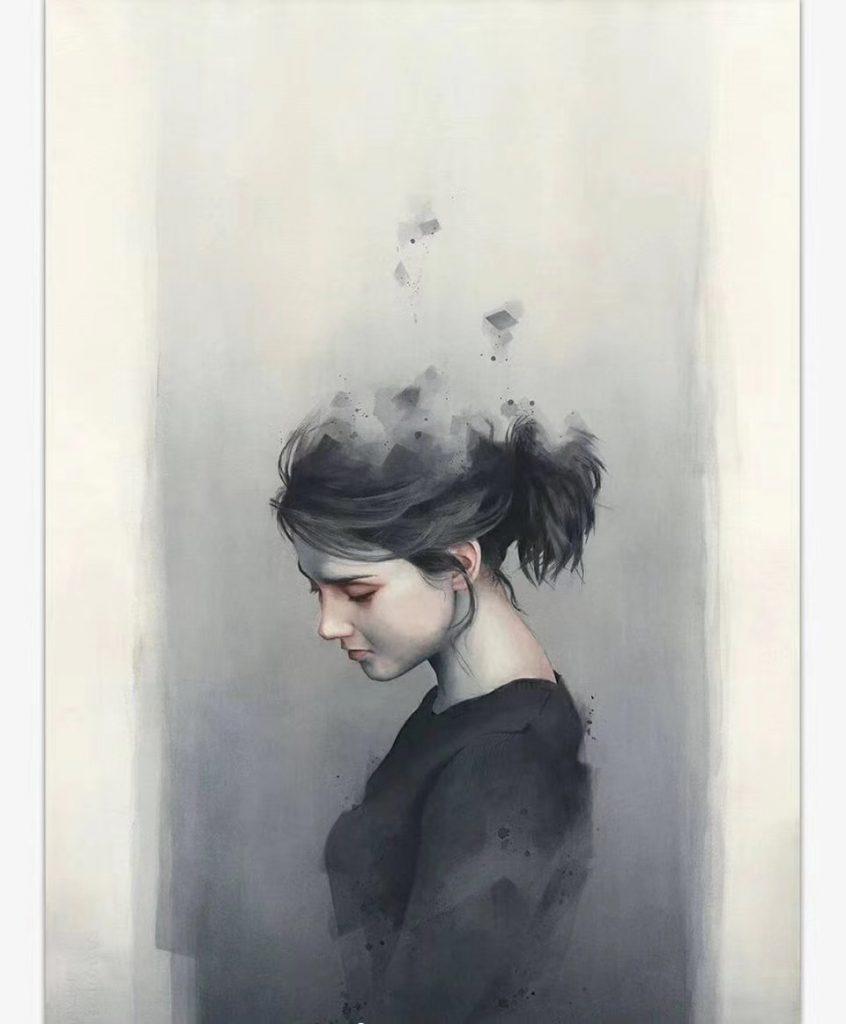 魂の水彩肖像插絵作品-Miroslav Zgabaj