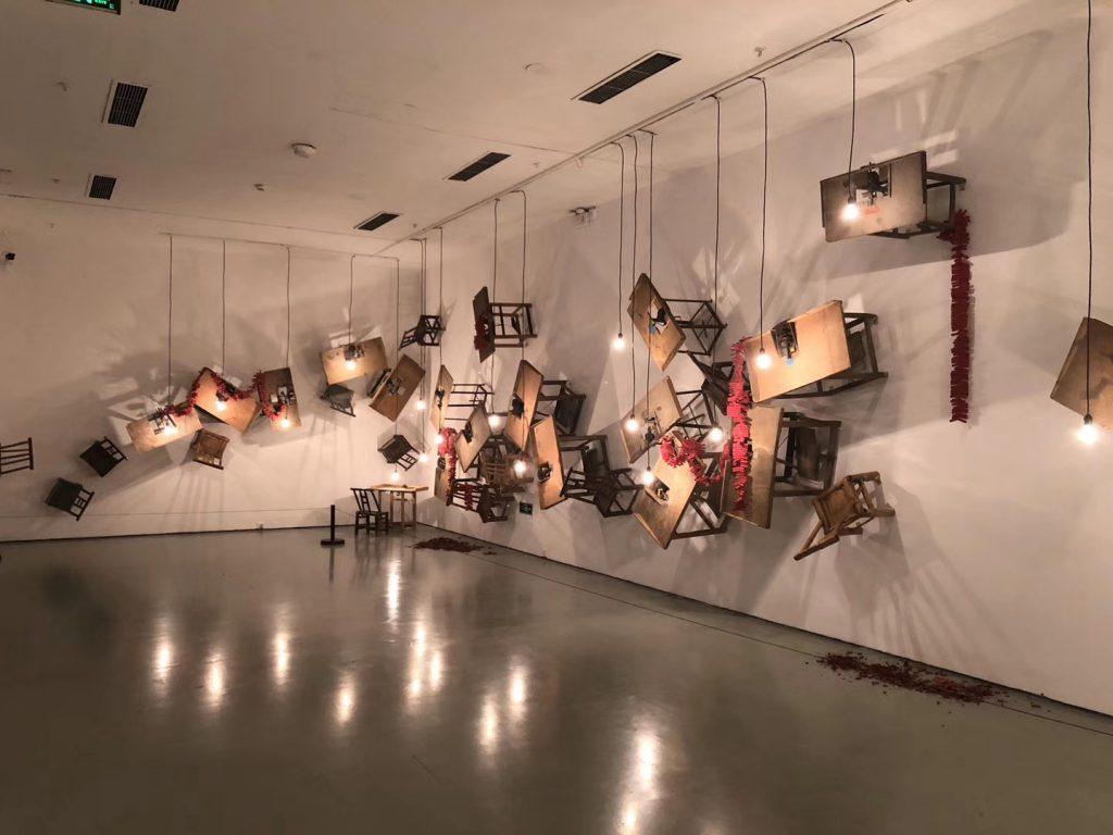 第四回今日文献展-縫合-今日美術館-撮影:野城
