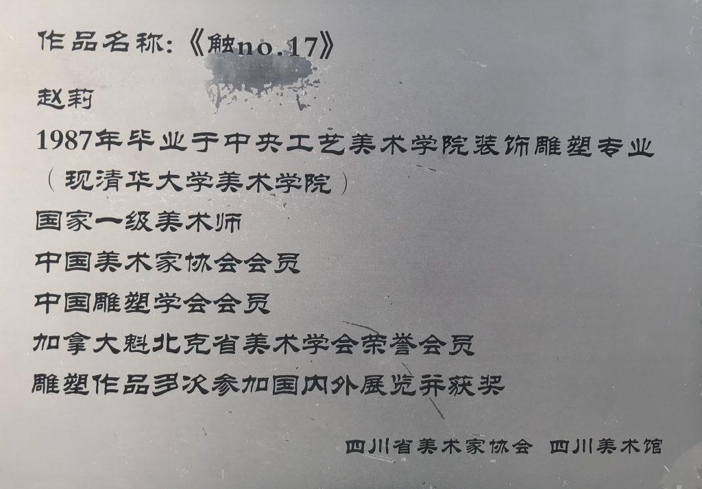触No.17-趙莉-四川美術館-成都市-四川省