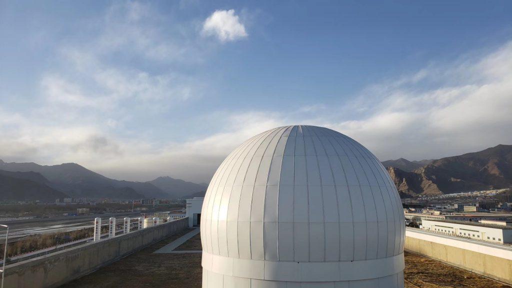 蔵域星球-天文体験館-ラサ-チベット-撮影:孫徵