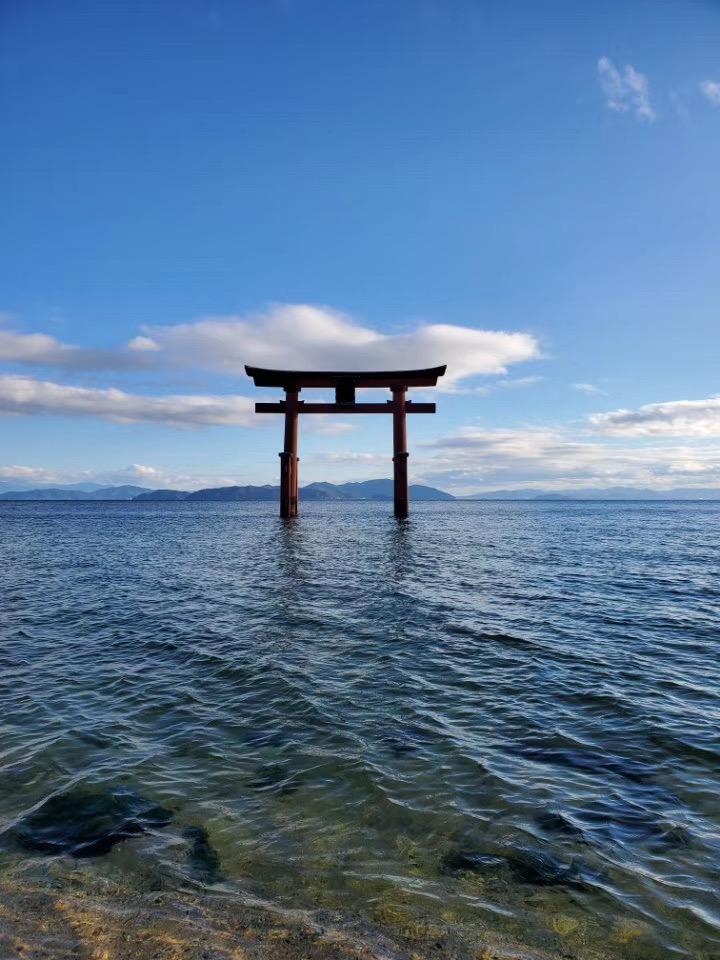 琵琶湖の冬-滋賀県-近畿地方-日本-撮影:王玉双
