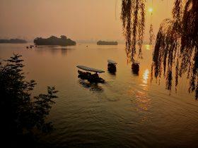 夕焼け-美しい杭州-杭州-浙江省-写真提供:林必忠