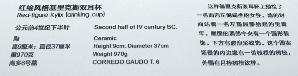 紅絵リックス双耳杯-特別展【彩絵地中海-PAESTUM-一つ古城の文明と幻想】-四川博物院