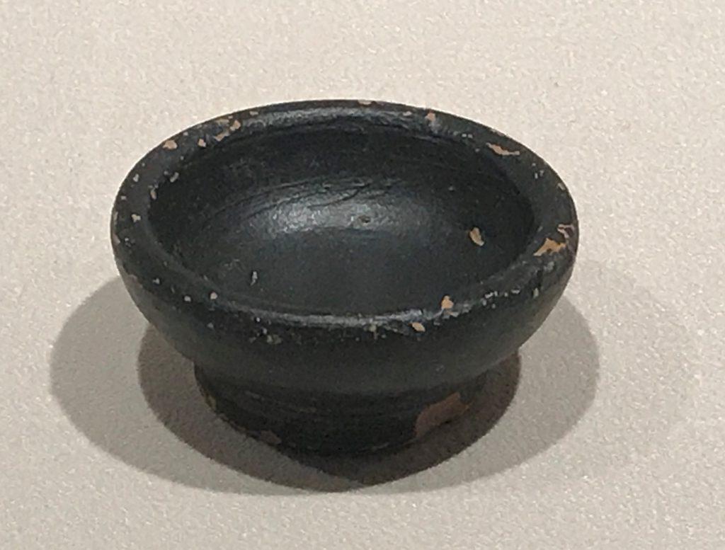 黒漆小杯-特別展【彩絵地中海-PAESTUM-一つ古城の文明と幻想】-四川博物院