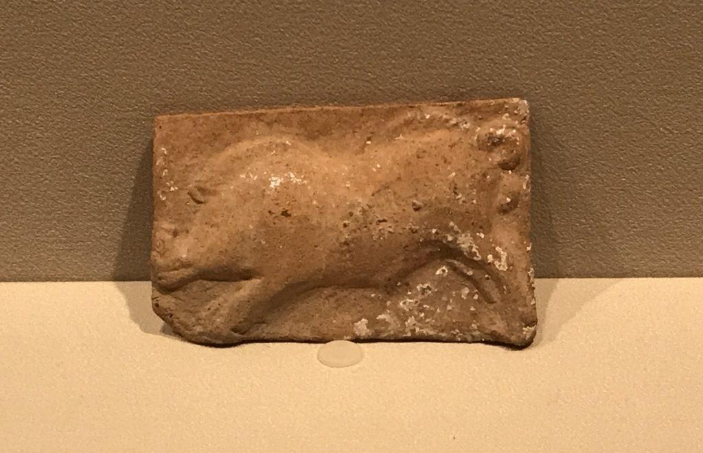 野猪紋様陶土壁装飾-特別展【彩絵地中海-PAESTUM-一つ古城の文明と幻想】-四川博物院