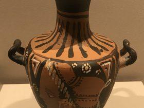 紅絵双耳提水罐-特別展【彩絵地中海-PAESTUM-一つ古城の文明と幻想】-四川博物院