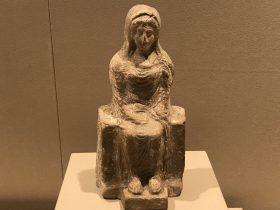陶製女性像-特別展【彩絵地中海-PAESTUM-一つ古城の文明と幻想】-四川博物院