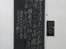 雨-杜甫千詩碑-浣花溪公園-杜甫草堂博物館-成都市-書:呉慶東