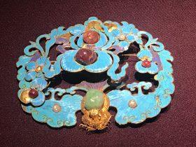 銀鍍金葫蘆紋簪-万寿盛典-特別展-金玉琅琅-清代宮廷の儀式と生活-金沙遺跡博物館