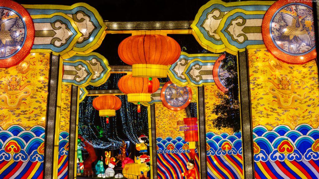 金沙太陽祭りがライトアップされ、紫禁城訪れるように!-金沙遺跡博物館