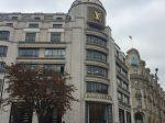 ブランド店-シャンゼリゼ大通り-Avenue des Champs- Élysées-2018年10月-パリ-フランス