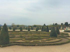 が-ヴェルサイユ宮殿の庭園-Château de Versailles-2018年10月-パリ郊外-フランス