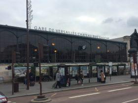 ヴェルサイユ=シャトー駅-Versailles Château Rive Gauche-2018年10月-パリ-フランス