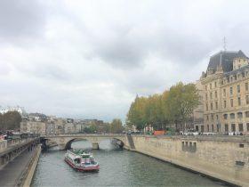 セーヌ川-la Seine-2018年10月-パリ-フランス