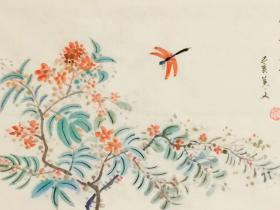 絶句二首-唐 · 杜甫-書・画:王英文–蘭里居士