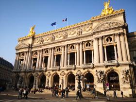 オペラ・ガルニエ(ガルニエ宮)-L'Opéra Garnier(Palais Garnier)-パリ-フランス:撮影:胡文弢