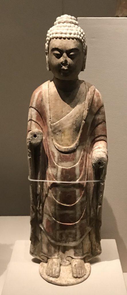 螺髻-立仏像-北齊-仏都鄴城-特別展【映世菩提】成都博物館