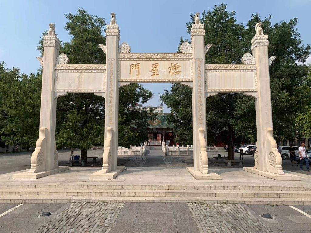 鄭州文庙-鄭州古城-東大街-鄭州市-河南省-撮影:林必忠