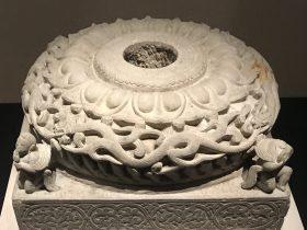 石雕柱础-北魏太和八年-齊粱之変-特別展【映世菩提】成都博物館