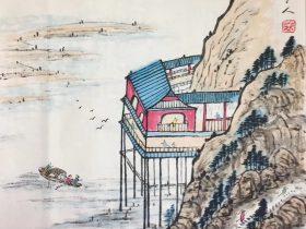 滕王閣序-唐代-王勃-書・画:王英文-蘭裏居士
