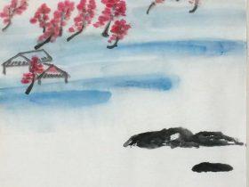 春夜洛城聞笛-唐代 · 李白-書・画:王英文-蘭裏居士