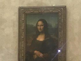 モナ・リザ-La Joconde-ルーブル美術館-Musée du Louvre-パリ-フランス-2018年10月
