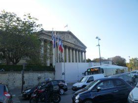 国民議会-パリ-フランス-2018年10月