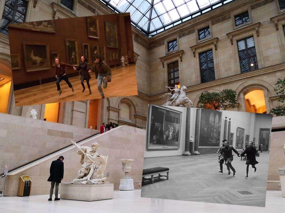 ルーヴル美術館-初編-Musée du Louvre-パリ-フランス-撮影:胡文弢