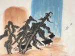 飲酒其五-魏晉 · 陶淵明-書・画:王英文-蘭裏居士