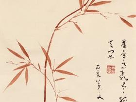 獨坐敬亭山-唐 · 李白-書・画:王英文-蘭裏居士