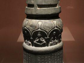 高善穆石造像塔-北涼承玄元年-シルクルード-特別展【映世菩提】成都博物館