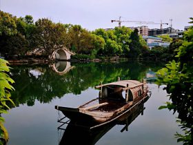 榕湖-城南護城河-桂林-広西-写真提供:羅作為