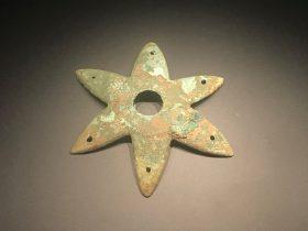 銅六角形器-一号祭祀坑-総合館-三星堆博物館-広漢市-徳陽市-四川省