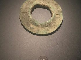 銅瑗-一号祭祀坑-総合館-三星堆博物館-広漢市-徳陽市-四川省