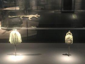 銅掛飾り-二号祭祀坑-総合館-三星堆遺跡博物館-広漢市-徳陽市-四川省
