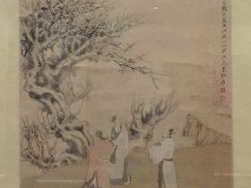 仿李龍眠三高図-張大千-紙本-近現代-書画館-四川博物院-成都