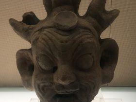 陶方相氏俑頭-東漢時代-成都天回山崖墓-陶瓷館-陶磁館-四川博物院-成都