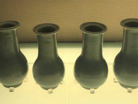 龍泉窯青釉瓶-南宋時代-陶瓷館-陶磁館-四川博物院-成都