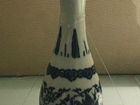 青花夔龍紋瓶-明代晩期-陶瓷館-陶磁館-四川博物院-成都