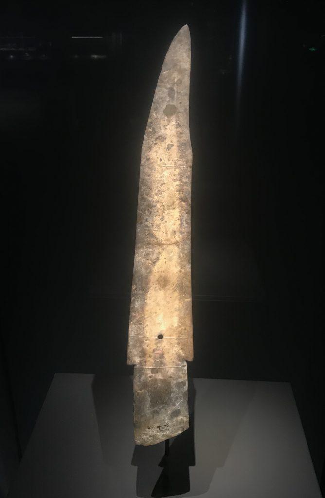 玉戈-一号祭祀坑-総合館-三星堆博物館-広漢市-徳陽市-四川省