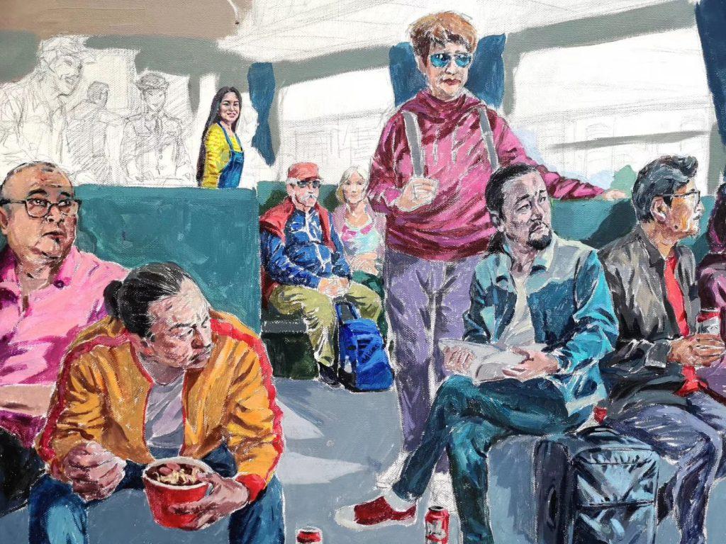 画家:趙斌個展【芸情】第七回オンライン展示【jin11ギャラリー東京】-2020年4月