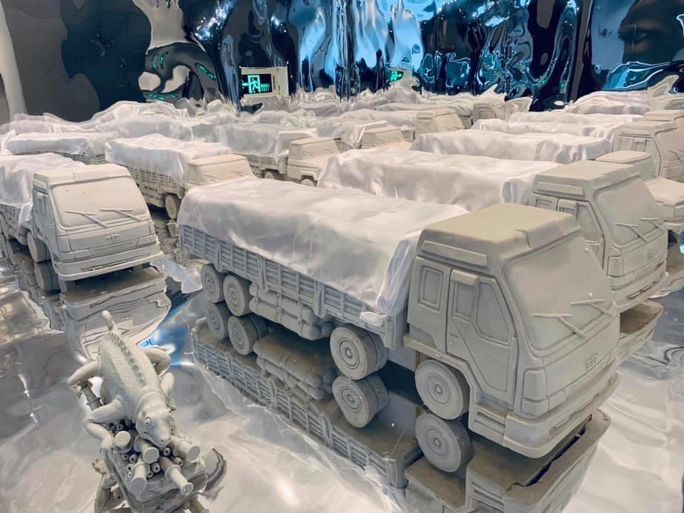 ミニチュアランドスケープ, デバイス, 可変サイズ, 2008, 張小涛  Miniature  Spectacle, installation, variable size, 2008 ,Zhang Xiaotao