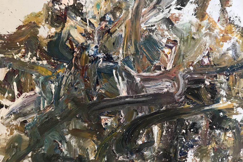 キャンバスに油彩 2019年. 200X300cm