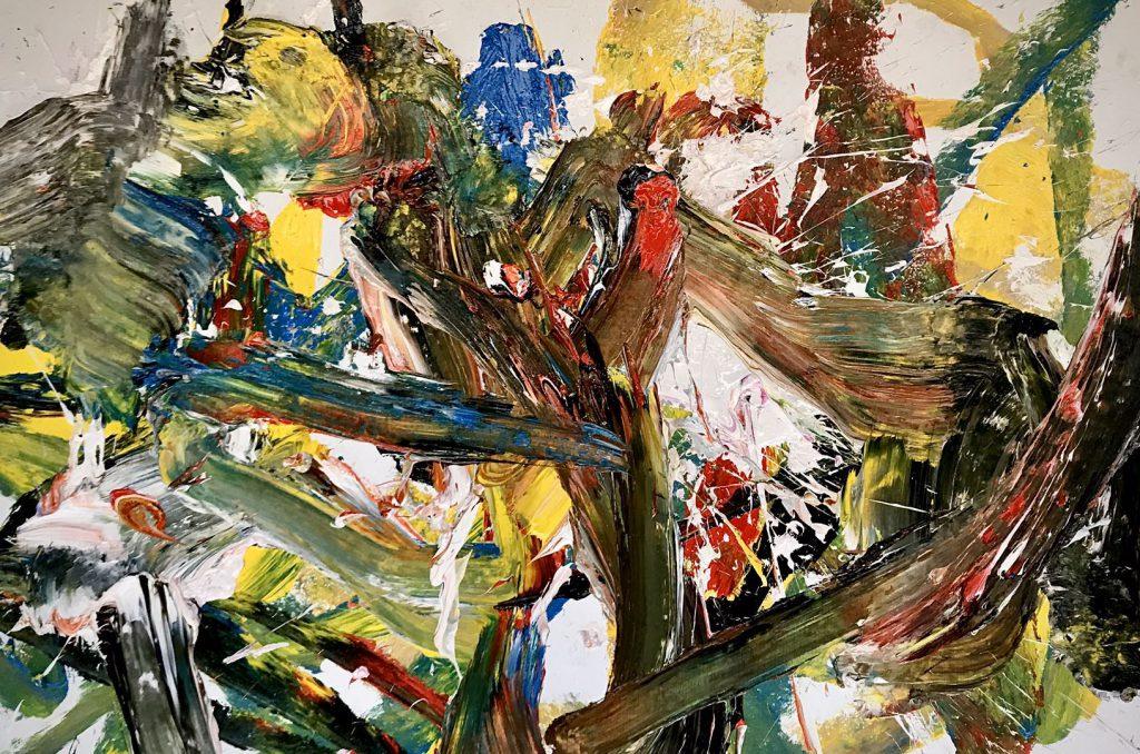 キャンバスに油彩 2020年 サイズ100X150cm