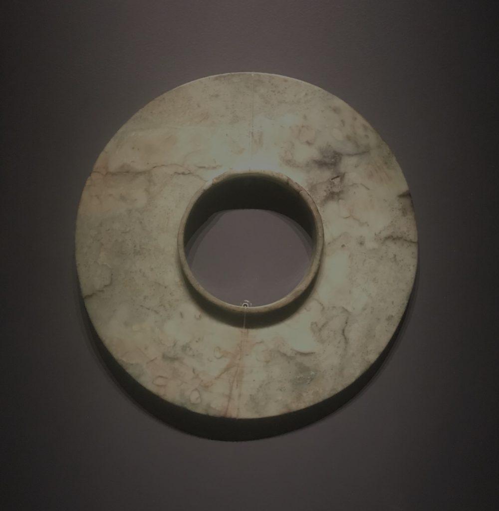 玉璧-二号祭祀坑-総合館-三星堆博物館-広漢市-徳陽市-四川省