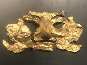 金マスク-一号祭祀坑-総合館-三星堆博物館-広漢市-徳陽市-四川省